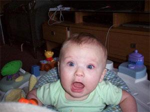 I'm 7 months old!? NO WAY!