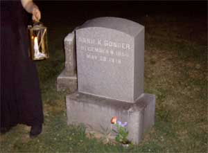 The final resting place of Annie K. Gonder